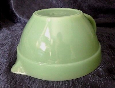 Vintage Anchor-Hocking Fire-King '50s+; JADEITE M-G Batter Mixing-Bowl; 6 Cup