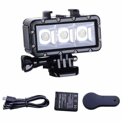 Suptig Diving light High Power Dimmable Waterproof LED Video Light Fill Night