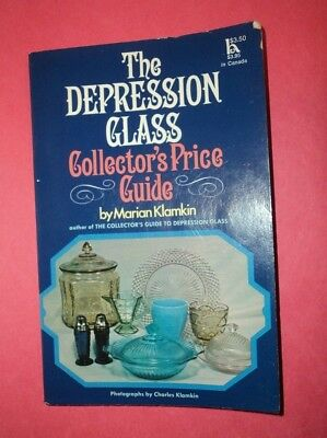 """The Depression Glass Collector's Price Guide"" by Marian Klamkin"