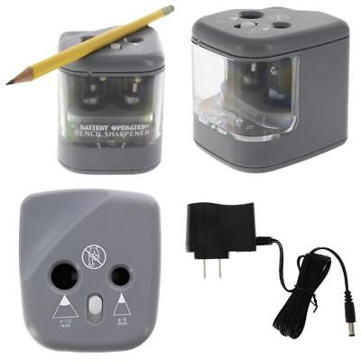 Duo Power Electric Pencil Sharpener. For Home, School, Work, And Classroom. 2 -