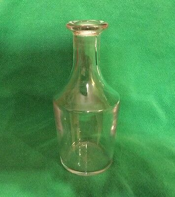 """Vintage Baccarat Wine Decanter 6 3/4"""" Tall & 2 1/2"""" At Its Widest"""