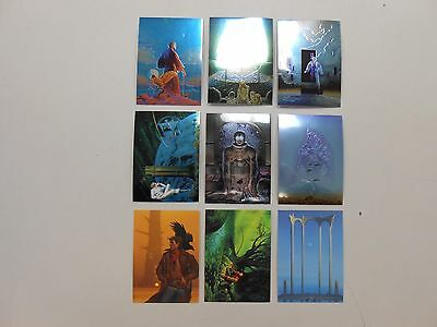 1995 Michael Whelan II Other Worlds Chase/Subset/MEDALLION card lot! NM! HTF!