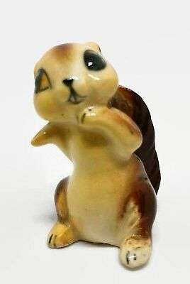 Vintage Hagen Renaker? Chipmunk Rodent Adult Miniature Animal Figurine Figure