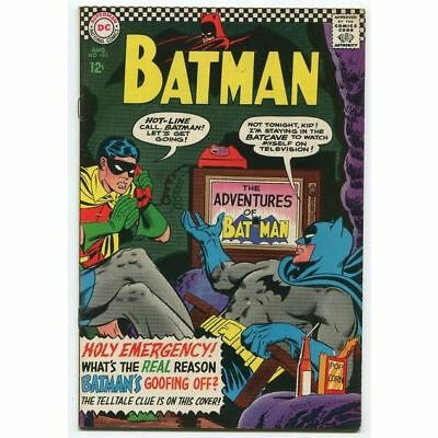 Batman #183 2nd Appearance of Poison Ivy (VF/VF+) DC Comics Silver Age id#227