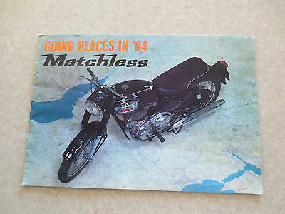 1964 Matchless motorcycles booklet 500 Marksman 350 Maestro 650 Majestic Monarch