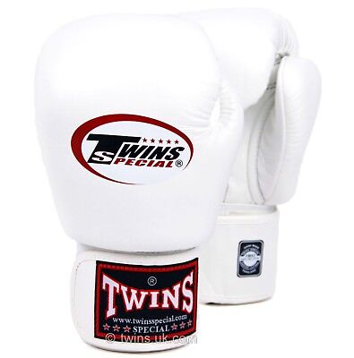 Twins Special Bgvl-3 White 10oz Muay Thai/ Boxing Gloves