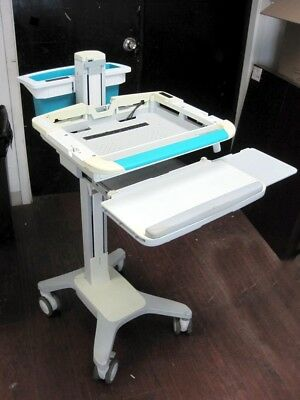 Ergotron SV31-31002 StyleView Notebook Height Adjusted Keyboard Tray Push Cart