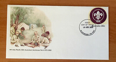 20c 4th Asia Pacific Scout Jamboree Perth Pre Stamped Envelope - Mint  & 1st Day