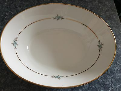 Noritake China Anjou, 10 inch Oval Vegetable Bowl, Rare!!!