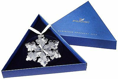 SWAROVSKI Crystal Snowflake Star 2016 Annual Christmas Large Ornament 5180210