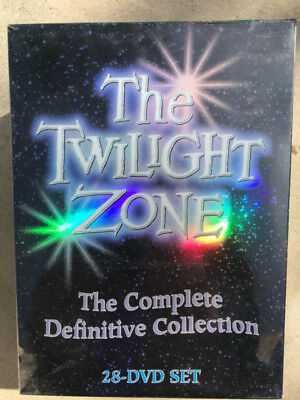 The Twilight Zone: The Complete Series (DVD, 2013, 28-Disc Set) Brand New Sealed