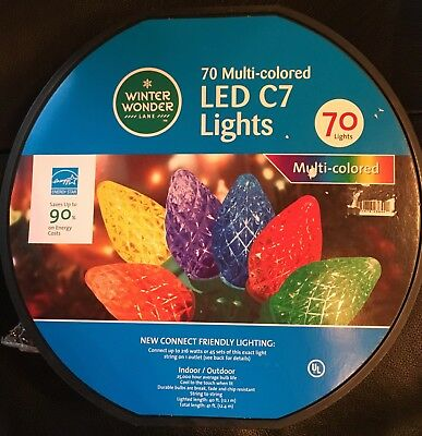 Philips Led Icicle Lights 70 Bulbs Multi Indoor Outdoor