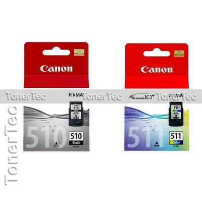 Canon Genuine PG510+CL511 Twin Pack Ink Set->MP282/MP280/MP260/MP495/MX420/MX410