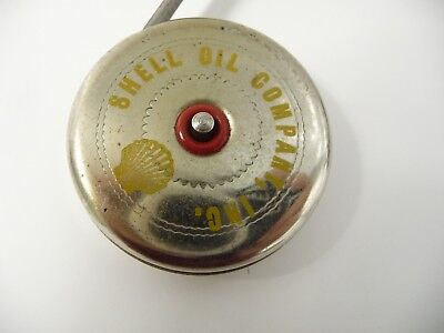 SHELL OIL COMPANY vintage collectible MEASURING TAPE metal WALSCO made in USA