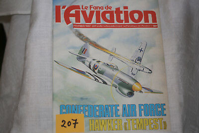 le fana de l'aviation n°207-le Hawker Tempest-le Fiat G55 2°-2/87