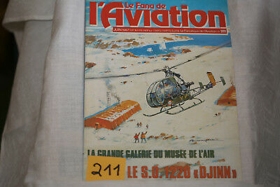 le fana de l'aviation n°211-le Convair B36 2°-les avions Lavothkine 2°-6/87
