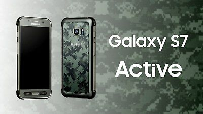 Brand New in Box Samsung S7 ACTIVE 32/64GB G891A AT&T Unlocked Smartphone