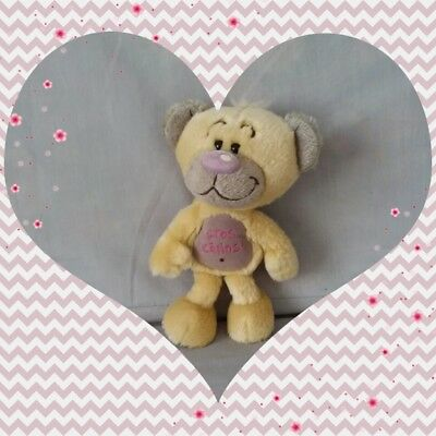 """Peluche Doudou Diddl Ours Pimboli """"Gros calin"""" TBE 23cm"""