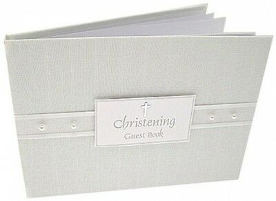 Guest Book- Christening Pearl