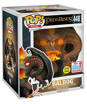 Balrog GITD 2017 Fall Exclusive Lord Of The Rings POP! Movies #448 Figur Funko