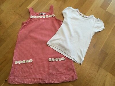Mini boden daisy dress with matching white pointelle age 7 for Mini boden germany