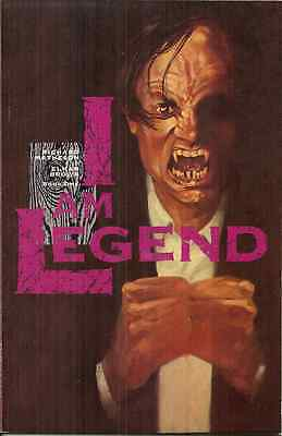 I AM LEGEND 1 Richard Matheson - ECLIPSE 1991 - VAMPIRE EPIC IN COMIC BOOK STYLE