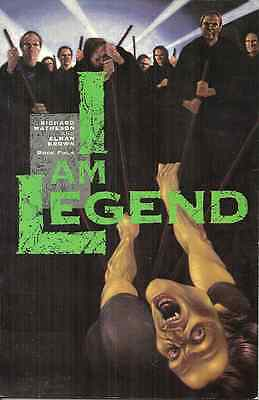 I AM LEGEND 4 Richard Matheson - ECLIPSE 1992 - VAMPIRE EPIC IN COMIC BOOK STYLE