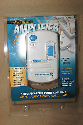 Amplifier Telephone Handset Ameriphone Model HA-40