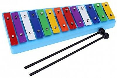 Andoer® 13 Bar Kid's Glockenspiel Xylophone Colorful Note Of Educational Toy