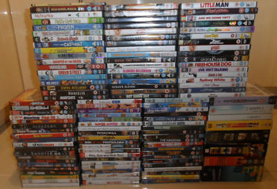 Wholesale Joblot DVDs All In Original Cases Over 130 New Used Sealed Box Sets