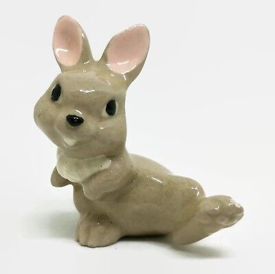 Vintage Hagen Renaker Thumper Bambi Rabbit Bunny Miniature Animal Figurine