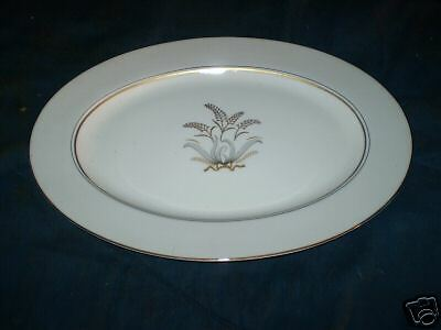 Napco Crest Royal Regency Oval Platter