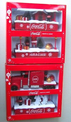 Coca-Cola Caravan Truck Toy Christmas 2017 Sound and Lights Mexico Collector !!!