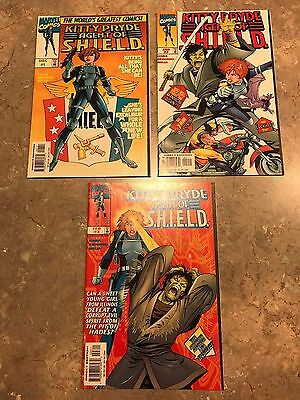 Kitty Pryde Agent of Shield # 1 2 3 Complete Set (1997 Marvel) Wolverine NM-
