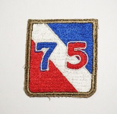 75th Infantry Division Patch WWII US Army P5852