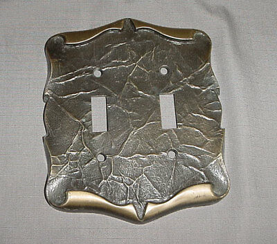 Amerock Carriage House Collection Double 2 Switch Plate Cover