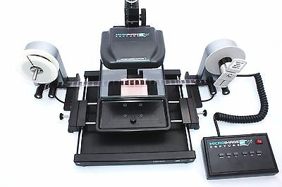 Micro-Image Capture 7M Universal Microfilm Reader Scanner for Fiche & Roll Film