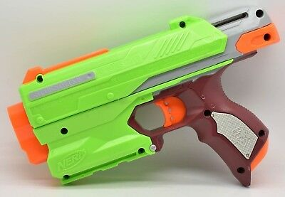 NERF Zombie Strike Sidestrike Dart Gun Tested Working Hasbro 2014