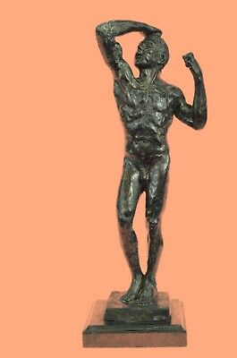Bronze Sculpture Statue The Age, Also Known As The Vanquished, Hot Cast Classic