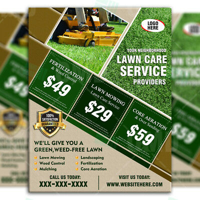 landscaping business business flyers lawn care business marketing