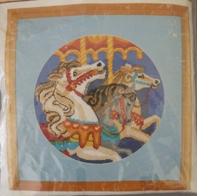 SEMCO LONGSTITCH ORIGINALS - THE CAROUSEL - KIT No 3300-3160 - REVAMPED