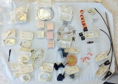 IBM selectric part: cords, tapes, levers, card guides, pulls plates. One price.