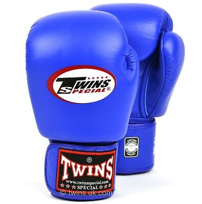 Twins Special Bgvl-3 Blue 12oz Muay Thai/ Boxing Gloves