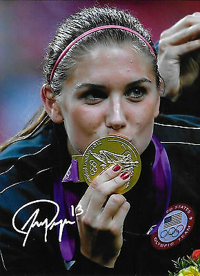 Alex Morgan signed Autographed photo RARE HOT SEXY In person