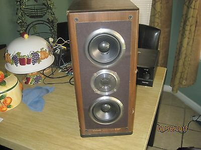 Beautiful Vintage ~ Pioneer S-55T ~ Floor Standing Speaker ~ Please Look & Read.