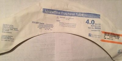 MALLINCKRODT Hi-Lo Oral/Nasal Tracheal Tube Cuffed Murphy 4.00 ID 86225 Lot of 6