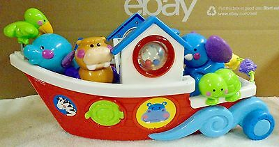 Fisher  Price  Amazing  Animal  Boat With  Animals