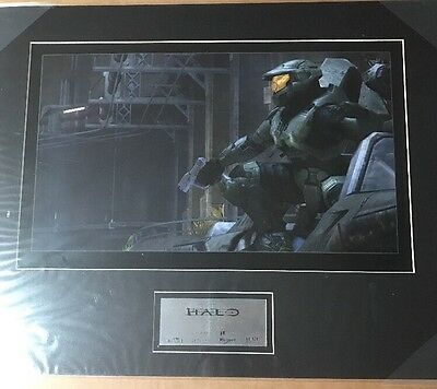 "Halo ""Dismount"" ACME Archives Limited Edition Mounted Art Print 35/150 Bungie"