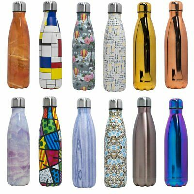 Thermos Vacuum Flask Insulated Double Wall Drink Water Bottle Stainless Stell