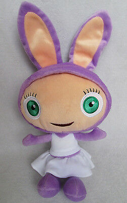 """14"""" Mattel  Waybaloo Childs Soft Lilac Plush Toy Excellent Fisher-Price"""